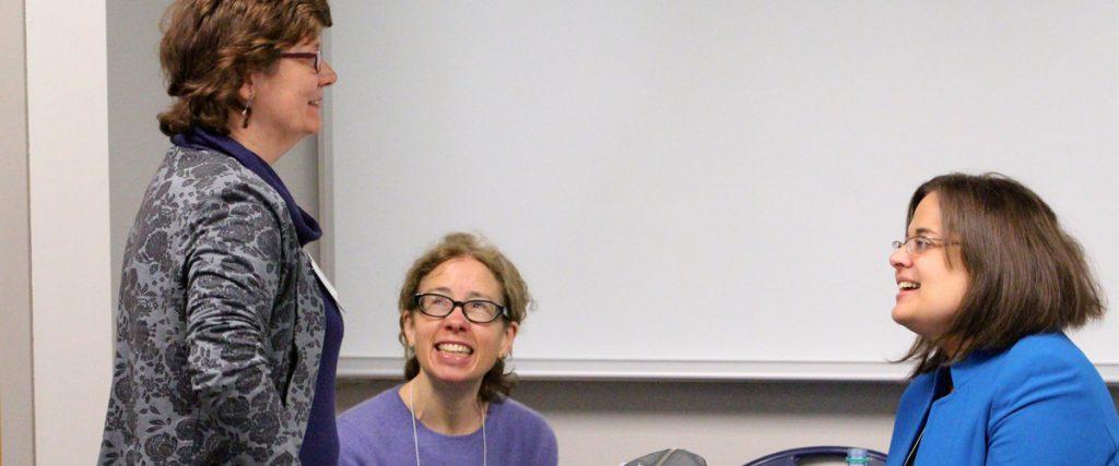 Rachel Golden in conversation at a gender panel at The International Medieval Congress at Kalamazoo